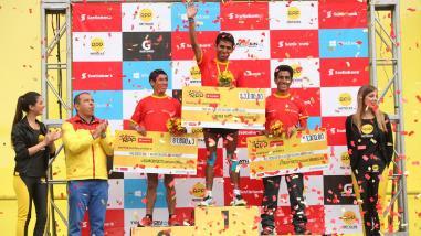 Jhon Cusi ganó en la 21k de la Maratón RPP Scotiabank 2015