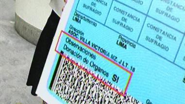 Perú: 3 millones le han dicho sí a la donación de órganos