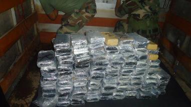 Decomisan más de 150 kilos de cocaína en Tingo María