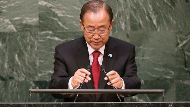 La ONU se declara