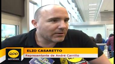 Elio Casaretto: La separación de André Carrillo no va afectar su futuro