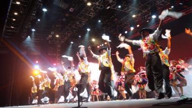 Elenco Nacional de Folclore brilló en inauguración de festival Cervantino
