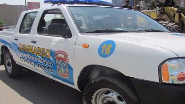 Chiclayo: Asignan camioneta de serenazgo a terminal Epsel