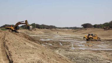 Delincuentes desmantelan maquinaria para afrontar Fenómeno El Niño