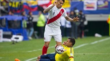 Perú vs. Colombia: Jeison Murillo se alista para duelo con Paolo Guerrero