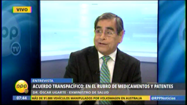 TPP: exministro Ugarte aborda 2 dudas tras firma de acuerdo