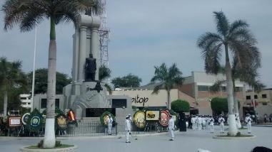 Piura conmemora el 136 aniversario del Combate de Angamos