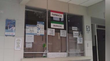 Cierran farmacia de Emergencias en hospital de Tumbes por feriado