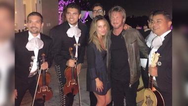 Kate del Castillo y Sean Penn juntos en fiesta mexicana