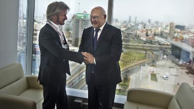 Sean Penn: las primeras imágenes del actor en Lima