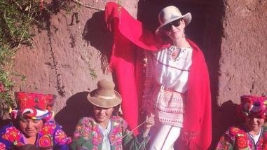 Katy Perry regresó a Perú y compartió fotos en Instagram