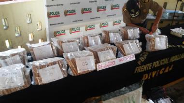 Tingo María: Frente Policial del Huallaga incautó material explosivo