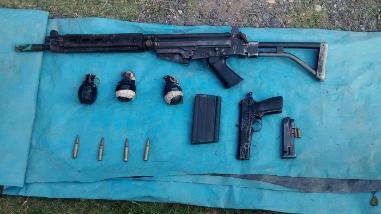 Vraem: hallan armas y granadas en pozas de maceración de hoja de coca