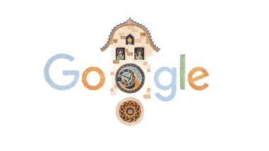 Un doodle por los 605 años del reloj astronómico de Praga