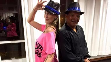 El Gran Show: Denisse Dibós y Melcochita juntos en la pista de baile
