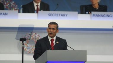Humala: Crecimiento debe ser sostenible con el medio ambiente