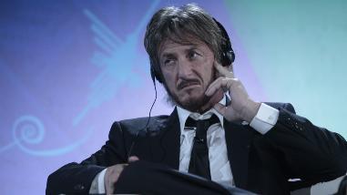 """Sean Penn: """"Un gobierno funciona solo si los ciudadanos participan"""""""