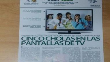 Chiclayo: investigación da luces sobre discriminación a la mujer andina