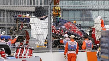 Fórmula Uno: Carlos Sainz sale ileso de terrible accidente en GP de Rusia