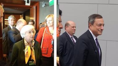 Janet Yellen y Mario Dragui: los poderosos que pasaron casi desapercibidos en Lima