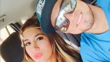 Universitario de Deportes: Melissa Paredes y Rodrigo Cuba se fueron de viaje