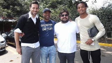 Claudio Pizarro, Jefferson Farfán y André Carrillo se juntaron con Waldir Sáenz