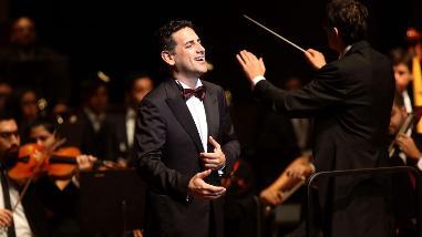 Juan Diego Flórez cantó en clausura de Junta de Gobernadores