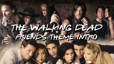 YouTube: Así sería la intro de The Walking Dead al estilo de Friends