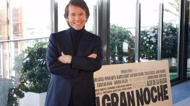 Raphael galardonado como Mejor Actor en festival de cine en Tokio