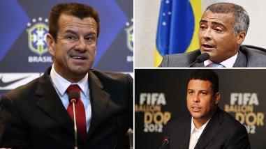 Eliminatorias Rusia 2018: Dunga respondió a las críticas de Ronaldo y Romario