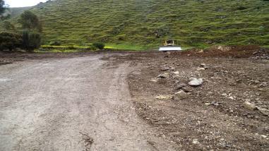 Tarma: pobladores anuncian marcha a Huancayo por obra paralizada