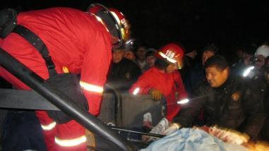 Seis heridos de consideración dejó choque frontal en Cajamarca