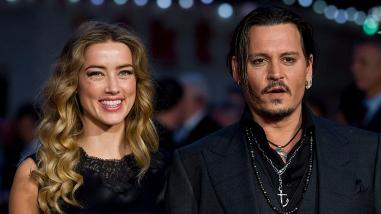 Johnny Depp se luce con Amber Heard en Londres
