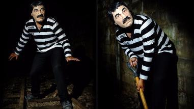 México: disfraz del Chapo compite con Drácula y la Momia por Halloween
