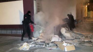 Huancayo: incendio consume sótano de la sede del Colegio de Ingenieros