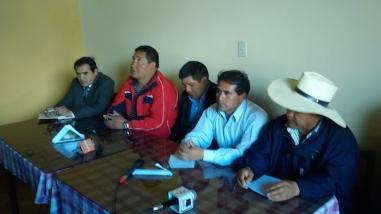 Ronderos anuncian movilizaciones por trabajos en reservorio El Perol