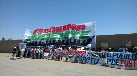 Suspenden juicio oral contra gobernador regional de Ayacucho Wilfredo Oscorima
