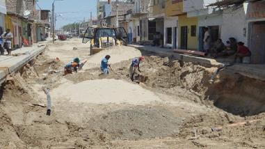 Piura: buscan dar continuidad a obra de saneamiento en Las Lomas