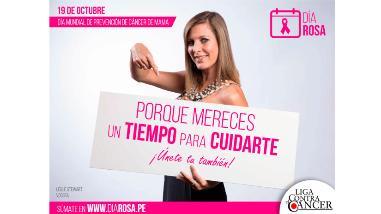 """Súmate al """"Día Rosa"""" contra el cáncer de mama"""