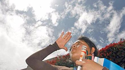 Reportan niveles extremos de radiación solar ultravioleta