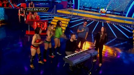 Combate: Noel Schajris sorprendió a Jazmín Pinedo con una canción
