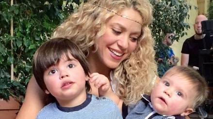 Facebook: Shakira comparte tierna foto con sus hijos