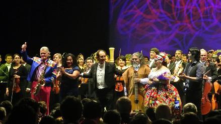 Artistas peruanos ovacionados en Festival Cervantino de México