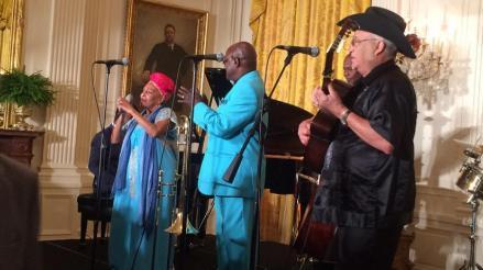 Buena Vista Social Club: banda cubana actuó en la Casa Blanca