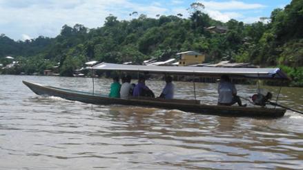 Amazonas: dos desaparecidos tras naufragio de embarcación en río Nieva