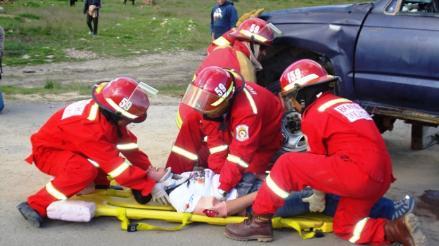Un muerto y cuatro heridos dejó accidente en Cajamarca