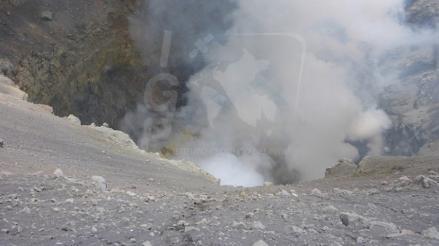 Alertan emisión de cenizas en volcán Ubinas