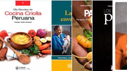 USMP recibe premio mayor empresa editora de libro de gastronomía