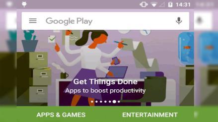 Google alista una nueva apariencia para Play Store