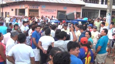 Pobladores mantienen tomada instalaciones de Electro Oriente